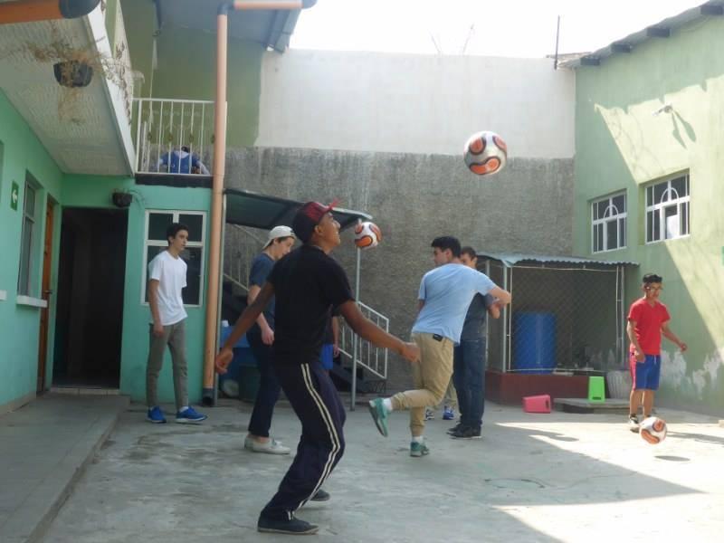 futbol in the hogar