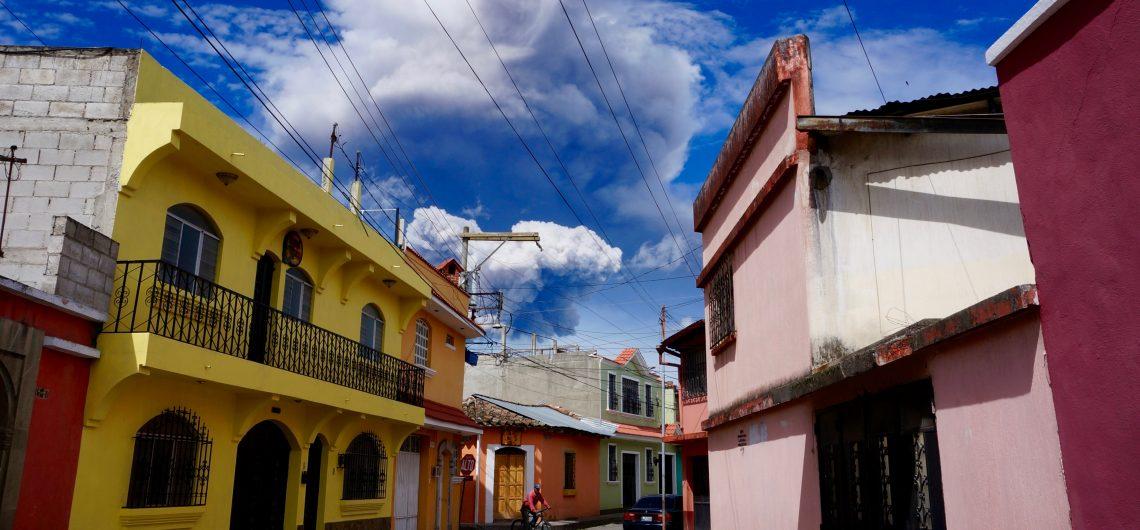 The streets of Xela